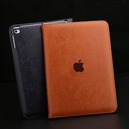 Wholesale China Luxury Bags - For iPad Air 1 2 Luxury Briefcase Hand Belt Holder Leather Case For iPad 2 3 4 Auto Wake Up  Sleep Stand Flip Bags Cover iPad Mini 4 3 2