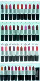 Wholesale Names Wholesalers - Exclusive! HOT New Makeup Matte Lipstick  Luster Lipstick  Frost Lipstick 3g 40 colors English name +gift