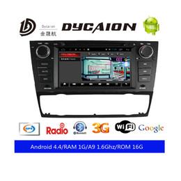Wholesale united radio - Android 5.1 Car DVD Player for BMW E90 E91 E92 E93 with Wifi GPS Bluetooth Radio Steering wheel Canbus Quad core