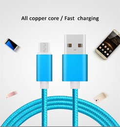 Wholesale Housing For Lg - Type C USB Cable Nalon Braided Metal Housing V8 Micro Durable Tinning High Speed Charging Cable with 10000+ Bend Lifespan for Android iPhone