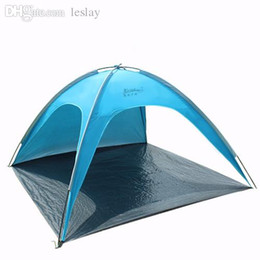 Wholesale Camping Gazebo Tent - Wholesale-Large Beach Sun Shelter Outdoors Camping Naturehike Fishing Leisure Picnic Sunshade Ultraviolet Gazebo Awning Tent Blue pink