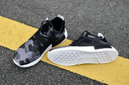 Wholesale Material Combinations - 2017 Rubber Outsole Running Shoes NMD XR1 Striking Combination of Shapes,Lines,Materials Primeknit Must-have Sneakers For Women Men