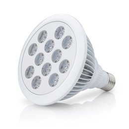 Wholesale Led Ufo Grow E27 - 12 LED Indoor Garden Plant Grow Light Bulb - 36W E27(3 Blue LED & 9 Red LED) Hydroponic Lamp Flower Plants Growth Vegetable Greenhouse DHL