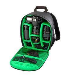 Wholesale Dslr Video Shoulder - Video Photo Digital Camera Shoulders Padded Backpack Bag Case Waterproof Shockproof Small Bags for Canon Nikon DSLR