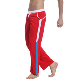 Wholesale Men Original Perfumes - Wholesale- Comfortable Polyester perfumes and fragrances of brand originals hip hop pants Men Pants With Drawstring casual pants 2012-CKU