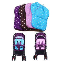 Wholesale Kinderwagen Stroller - Wholesale- Baby Stroller Mat Pad Cushion By Carriage Kinderwagen Pram Trolley Shopping Carts Baby Car Seat Accessories for Strollers