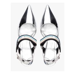 Wholesale low heel gold glitter shoes - wholesaler free shipping New kitten heels 2017 sexy Roman stilettos pointed toe slim high heel women shoe 339