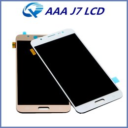 Wholesale Touch Panel Screen Repair Replacement - High Copy A+++ Quality for Samsung Galaxy J7 LCD Screen Display Touch Digitizer Repair Parts Replacement