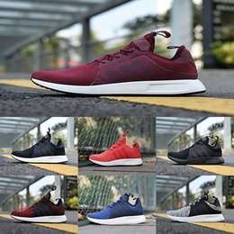Wholesale Fashion Boots Online - 2017 NMD X_PLR Running Shoes Ultra boost Triple Black white red grey blue Fashion men NMDS X PLR UltralBoost Sports Shoes cheap online