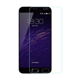 Wholesale Meizu M2 - Wholesale- New 0.26mm Screen Protection Tempered Glass Film For Meizu M5 M3 M2 M1 note Screen Protector Cover Meizu M2 M1 M3s M5s mini 9H