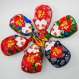 Wholesale Handcrafts Art - Cotton Cloth Cloth Rabbit Decoration Home Decoration Tourism Handcrafts Chinese style gift Folk Arts and Crafts