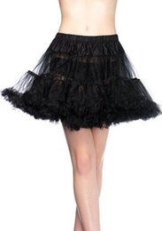 """Wholesale Tutu Colores - 26"""" 50s Retro Underskirt Swing Vintage Petticoat Fancy Net Skirt Rockabilly Tutu (7 Colores To Choosing) Free Shipping 2 Layers Cheap 2017"""