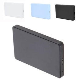 """Wholesale Enclosure Case Hdd Hd - Wholesale- New 3 color 2.5"""" USB 3.0 SATA HD Box HDD Hard Drive External Enclosure Case Support Up to 2TB Data transfer backup tool For PC"""