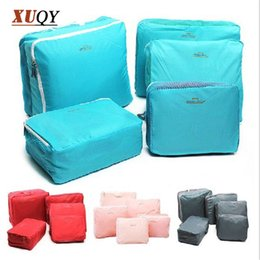 Wholesale Korea Luggage - Travel Accessories Travel Package Receive Bag Clothes Luggage Waterproof Korea 5in1 Free shipping BO7035