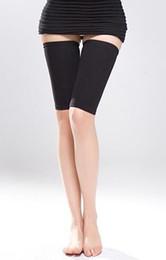 Wholesale Slimming Legs Shaper - 1pair lot Hot Sale Sports Safety Belt Slimming Leg Sweat Sport Body Shaper High Quality Strap For Women