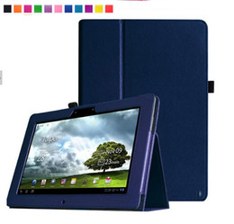 Wholesale Asus Memo Cases - Wholesale-3 in 1 For Asus Memo pad FHD 10 ME301T ME302C ME302KL 10.1 inch tablet Pu Leather Protective Cover Stand Case+Screen Film+Stylus