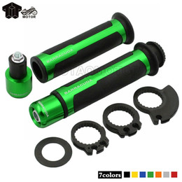 Wholesale Er 6n - 7 8'' 22MM Universal Street&Racing CNC Motorcycle Handle bar Grips FOR KAWASAKI NINJA650R ER-6N ER-6F Z250 Z300 Z750 Z800 Z1000