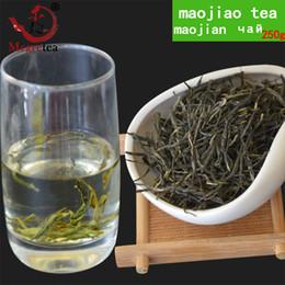 Wholesale Greens Health Foods - [Mcgretea]2018 New 250g Chinese Xinyang Maojian Green Tea Real Organic New Early green tea weight loss Health Care Green Food