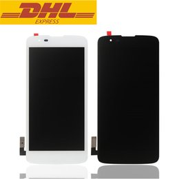 Wholesale Hot Touch Digitizer - Hot Sale LG K7 LCD Touch Screen Digitizer With Display Assembly 5.0inch For LG Tribute 5 LS665 LS675 MS330 Screen Replacement