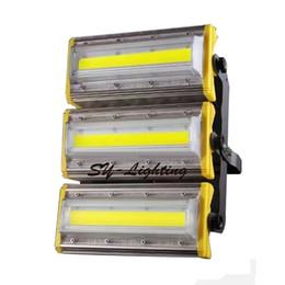 2019 projecteur jaune 150W LED extérieur Projecteur carré commercial lampe de jardin extérieur blanc chaud rouge vert vert bleu or jaune étanche IP66 ampoule Projecteur projecteur jaune pas cher