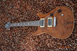 Wholesale Custom Flame Fingerboard Guitars - Flamed maple body top CUSTOM guitar electric guitar in stock Mahogany body and neck Qulity rosewood fingerboard