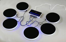 Wholesale Drum Electronic Toys - Drum kit Christmas Toy Activity Electronic Drum Kit Percussion Digital smart electronic Portable Electronic Drum Kit learning Instruments
