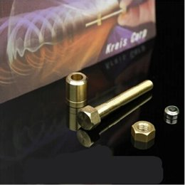 Wholesale Gimmick Tricks - Magic Psychic Autorotation Nut Off Bolt Screw Close Up Gimmick Stage Trick Props Toys Party Christmas Stick Games 7 9wb