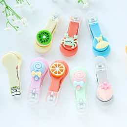 Wholesale Stainless Steel Nail Scissors - Nail Clippers Scissors Manicure Tools Stainless Steel 20pcs Mixed Colors High Quality Cute Cartoon Animal Pet Fruit