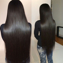 2019 16 armure de 18 longueurs Cheveux vierges brésiliens tressés 4 faisceaux 100% de fournisseurs brésiliens non transformés d'extension de cheveux brésiliens 100g / Pcs Longueur de mélange 16-30 pouces 16 armure de 18 longueurs pas cher