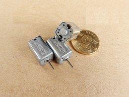 Wholesale 9v Motors - 20PCS 10*10mm Square Stonge Magnetic Dc Micro Motor With 6 Poles 6v - 9v 9700-14700RPM Large Toque
