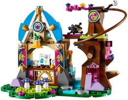 Wholesale Toy Plastic Dragons - Elves Elves series 10501 girl friend 41173 dragon school building blocks assembled girls toys
