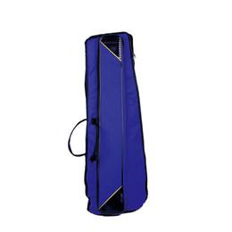 Trombón online-Paquete de trombón de rango medio de tela y algodón de alta calidad paquete grueso grueso paquete de instrumentos de latón accesorios