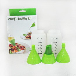 instrument kits Promo Codes - Chefs Bottle Kit Barbecue Seasoning Tool Barbecues Brush Instrument Condiment Means Kitchen Flavouring Prepara Implement New Arrive 13kr R