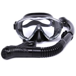 Wholesale Water Sports Equipment Diving - Wholesale-The New Safety Sports Glasses Of Water Training Dives Diving Snorkeling Equipment Silicone Diving Mask Anti-fog Sea Snorkeling