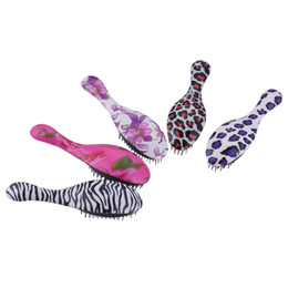 Wholesale Electric Magic Brush - Hot Electric Massage Combs Magic Detangling Handle Detangling Anti-static Comb Hairbrush Hair Straightener Hair Styling Tools