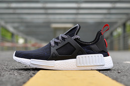 Wholesale Shoes Skateboarding Casual - NMD XR1 3 Camo X City Sock Pk Wool Navy NMD Primeknit Boost With Box Cheap 2017 Best Quality Fashion Casual Running Sports Shoes Size 36-45