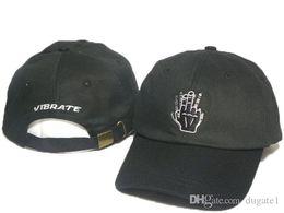 Wholesale Army Sign - NEW Hot adjustable Snapback Cap Baseball Hat For Men Women Casquette Sport Hip Hop Mens Womens Basketball Cap Vibrate sign bones Cheap hat