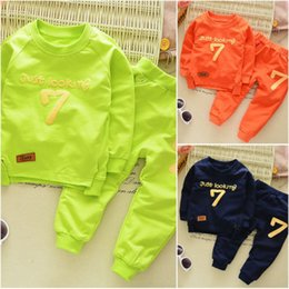Wholesale Toddler Boy Green Pants - 2Pcs Baby Boys Casual Cotton T-shirt Long Pants Toddler Clothes Set Outfits