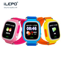Wholesale Android Agps - smart watches GPS phone watch phone for kid GPS+BDS+LBS+WIFI+AGPS double sided talk Touch screen MTK2503 400mah smartwatch