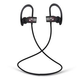 Wholesale Ears Monitors - Stereo Blutooth Sport Headphones Wireless Earphones In Ear Monitor Noise Canceling Handsfree Headset bluetooth wireless headset
