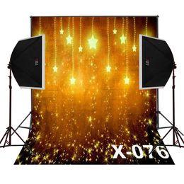 золотой блеск звезды фото фон для новорожденных фотостудия цифровой ткани виниловые фонов камеры fotografica фотографии реквизит от