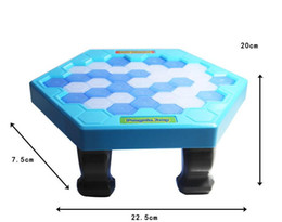 Wholesale Fun Box Games - Interactive Ice Breaking Table Penguin Trap Children Funny Game Penguin Trap Activate Entertainment Toy Family Fun Game with Box