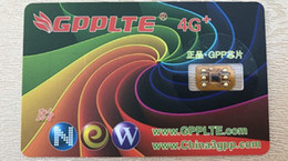 Wholesale Gpp Unlocking Card - Free DHL New Original GPP GPPLTE4G+ Pro Unlock for iPhone5 5S 5C 6 6P 6S 6SP 7 7P