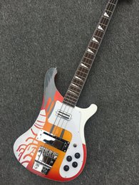 Wholesale Custom Electric Bass Guitars - Custom 4 Strings Bass 4003 Electric Bass Guitar More Color Choices Black Blue High Quality OEM & Bass Guitar