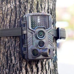 Wholesale Night Wildlife Cameras - Waterproof Infrared 12MP 1080P Game & Trail 46 IR LEDs Game Hunting Camera Wildlife Scouting Trail Camera Night Vision Video Recorder