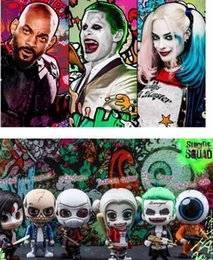 Wholesale Clown Dolls Stuffed - Suicide Squad Harley Quinn18-20cm Movie Suicide Squad Harley Quinn Clown Plush Doll Stuffed Toys for Children Kids Gift Free shipping retail