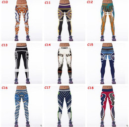 Wholesale Wholesale Sports Tights - Football Team Women Leggings 2017 Football Club Womens 3d Printed Leggings for Women Workout Tracksuit Yoga Stretch Tights Sport Leggings