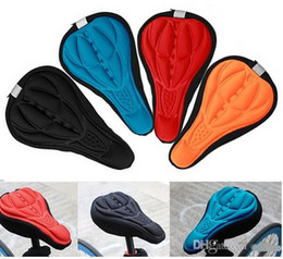 Wholesale Bike Seat Gel Cover - New Cycling Bike Saddle Comfortable Silicone Gel Seat Cover Cushion Soft Bicycle Pad