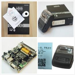 Bluetooth Etiket Yazıcı Fatura baskı Taşınabilir el yazıcı 58mm Termal Etiketleri Kablosuz etiket makinesi android / windows / Linux DHL nereden