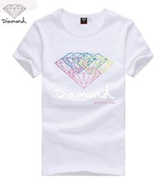 Wholesale Diamond Supply Shirts Free Shipping - Free Shipping mens t shirts fashion 2017 diamond supply co men t shirt High quality cotton O-Neck short sleeve tee shirt